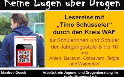 Eine Lesereise mit Timo Schüsseler